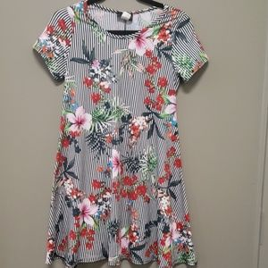 Discreet Floral Dress